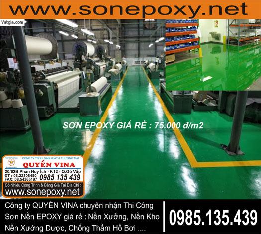 thi công sơn sàn epoxy_Thi công sơn Epoxy giá rẻ 75_000 đ_giá sơn epoxy_sơn epoxy giá rẻ